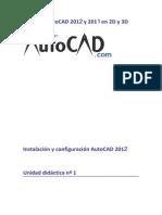 Curso de Autocad 2012 y 2011 en 2D y 3D