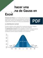 Como Hacer Una Campana de Gauss en Excel -2