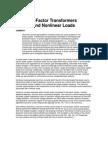 K FactorTransformer