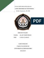 Cover Analisis Demokrasi Indonesia