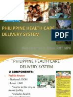 Philippine Health Care Delivery System