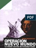 Simón Wiesenthal - Operación Nuevo Mundo (La Misión Secreta de Cristóbal Colón)