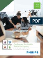 201404 Philips Catálogo Iluminación Residencial 2014
