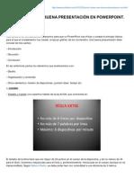 Cmo Hacer Una Buena Presentacin en Powerpoint Segunda Parte