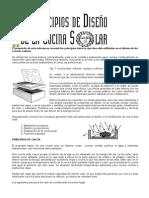 Principos de Diseño de Cocina Solar