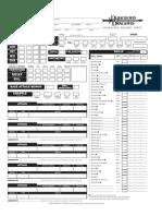 Character Sheet v3.5