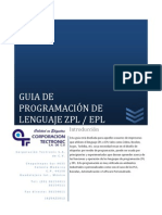 Lenguaje de Programacion Para Etiquetas ZPL EPL