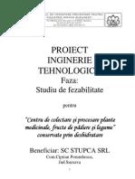 Proiect Inginerie Tehnologica