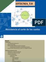 (18!12!2013) Tema 8 Resistencia Al Corte de Suelos Geotecnia