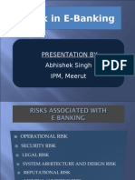 Risk in E-Banking