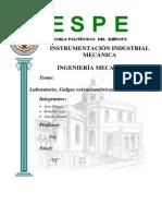Informe de Laboratorio de Galgas Extensiometricas