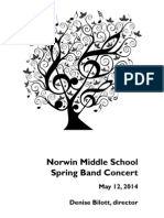 Norwin Middle School Band and Jazz Band Concert 5/12/14