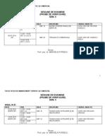 Sesiune Examene Mtc Sem II 2014