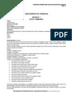 Documento de Trabajo Sesiones 1º Grado