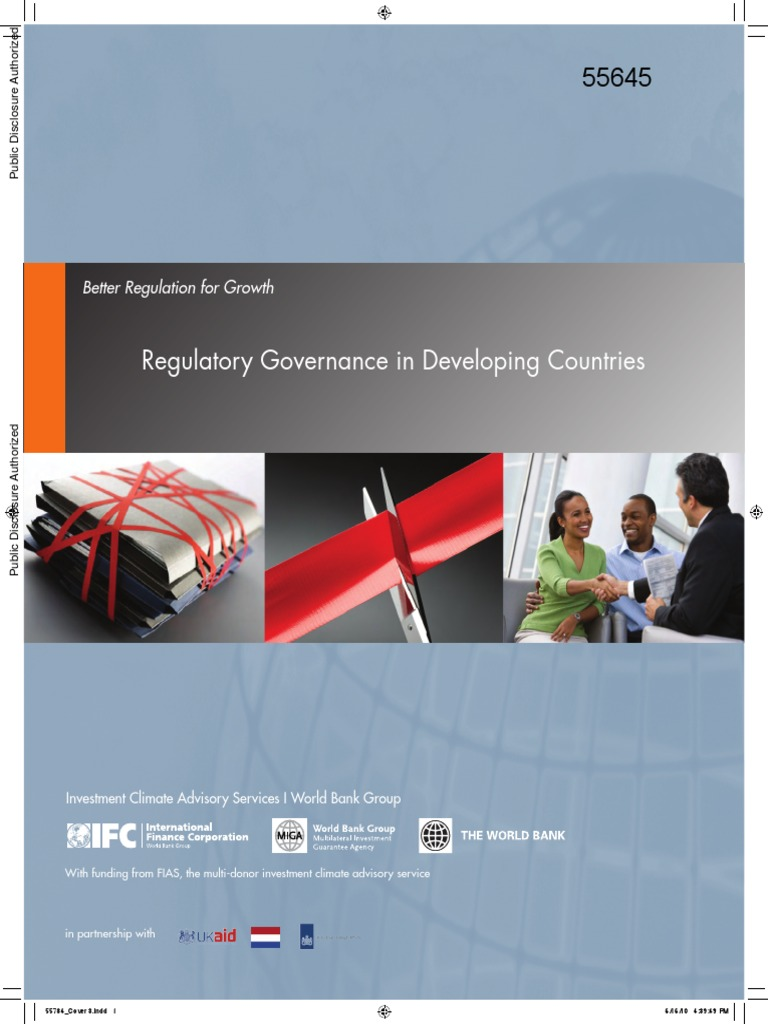 The world bank sl a bangkok - Regulatory Governance In Developing Countries World Bank Report Governance Policy