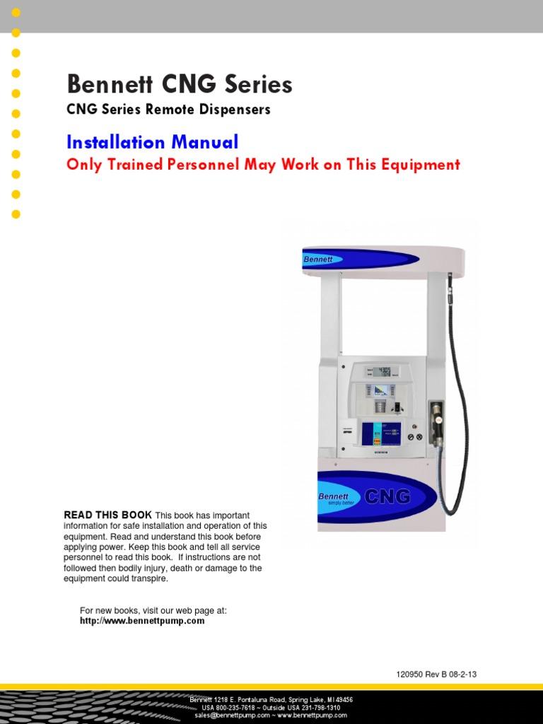 Bennett Cng Dispenser Installation Electrical Wiring Mains Tokheim Pump Diagram Electricity