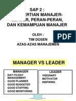 Sap 2 Asas Manajemen