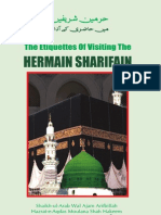 Etiquettes of Visiting Haramain Sharifain