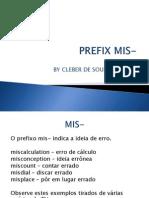 prefix mis-.ppsx