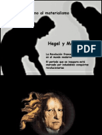 Hegel y Marx