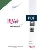REBNY Spring 2014 Retail Report