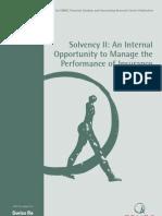 EDHEC Publication SolvencyII SwissRe