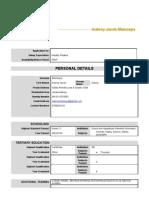Word CV Format ASIE[1] Aubrey Mamoepa Cv Real One1[1][1].Doc New