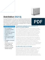 NAS Synology DS213j - Synology DS213j Data Sheet Esn