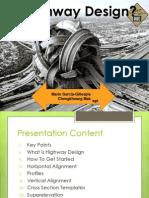 Highway Design presentation