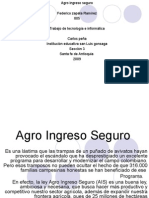 Agro Ingreso Seguro Fede 805