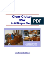 Clear Clutter Now in 6 Steps