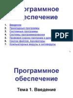 Программное обеспечение (ПО)