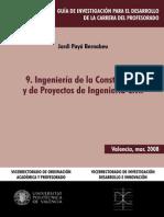 Ingenieria de La Construccion de Proyectos de La Ingenieria Civil