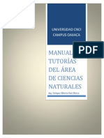 Manual de Turorias de CNCI en Ciencias Naturales Ing. Enrique