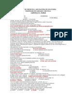 Examen de Torax Anatomia 2008