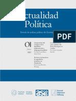 Revista Actualidad Política No1 2012 DISOP ASIES