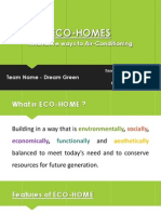 Eco Homes Ppt