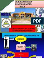 Organizacion Del Servicio Exterior Nicaraguense