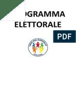 programma elettorale dettagliato