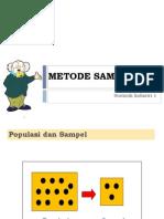 P11 - Metode Sampling & Penentuan Jumlah Sampel