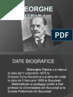 Gheorghe Țițeica