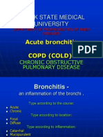 Acute & Chronic Bronchitis & COPD