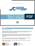 Taticas de Content Marketing Atributos e Tendencias 2014