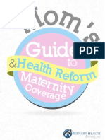 Mom's Guide to Health Reform and Maternity Coverage