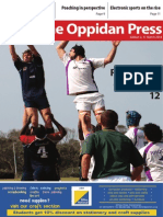 The Oppidan Press Edition 2 2014