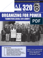 Teamsters Local 320 Spring 2014 Newsletter
