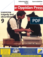 The Oppidan Press Edition 3 2014