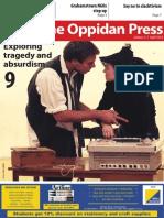The Oppidan Press Edition 3 2014