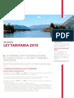 Ley Tarifaria Neuquen 2013
