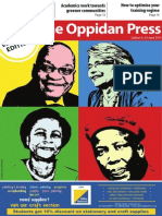 The Oppidan Press Edition 4 2014